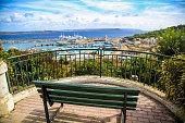 Mgarr harbour on Gozo island on Malta.