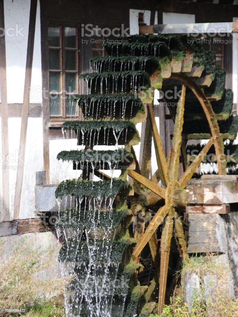 Mühle stock photo