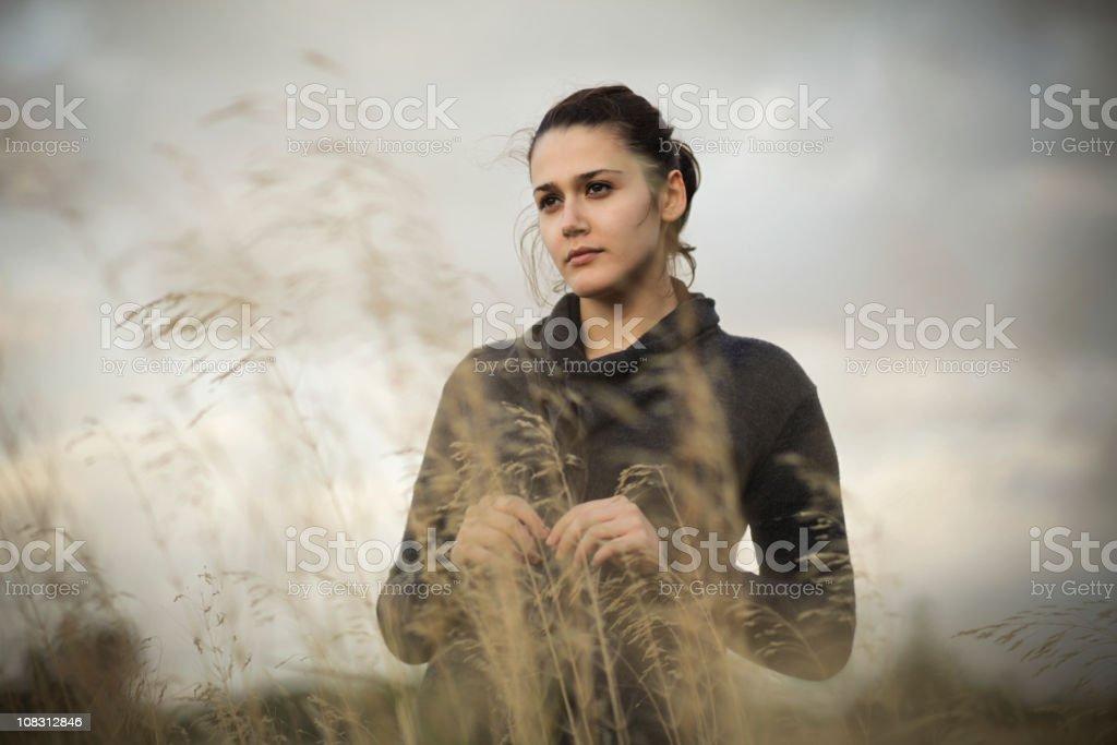 Mi corazón se desató en el viento royalty-free stock photo