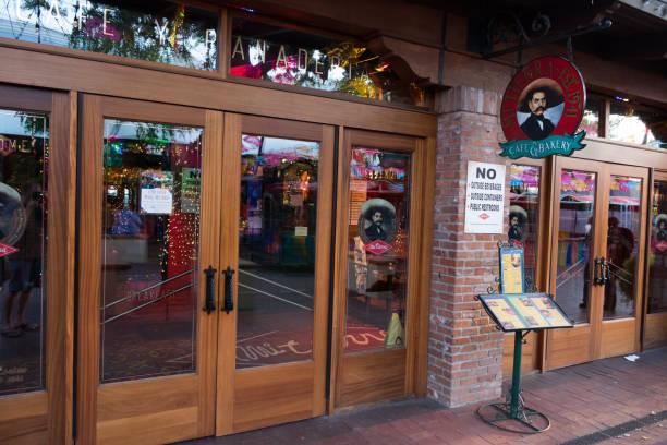Mi Tierra Cafe and Bakery San Antonio stock photo