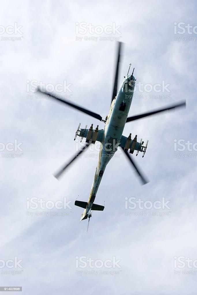 Mi-24 royalty-free stock photo