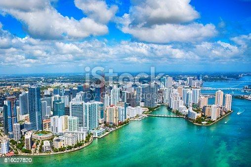 istock Miami Aerial 816027820