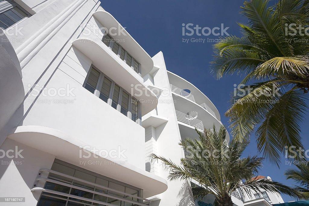 Miami Beach Architecture stock photo
