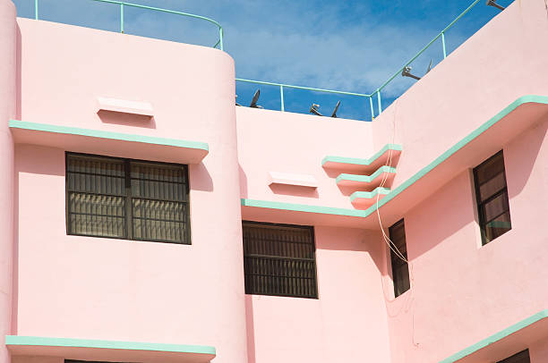 Miami Beach Architecture stock photo