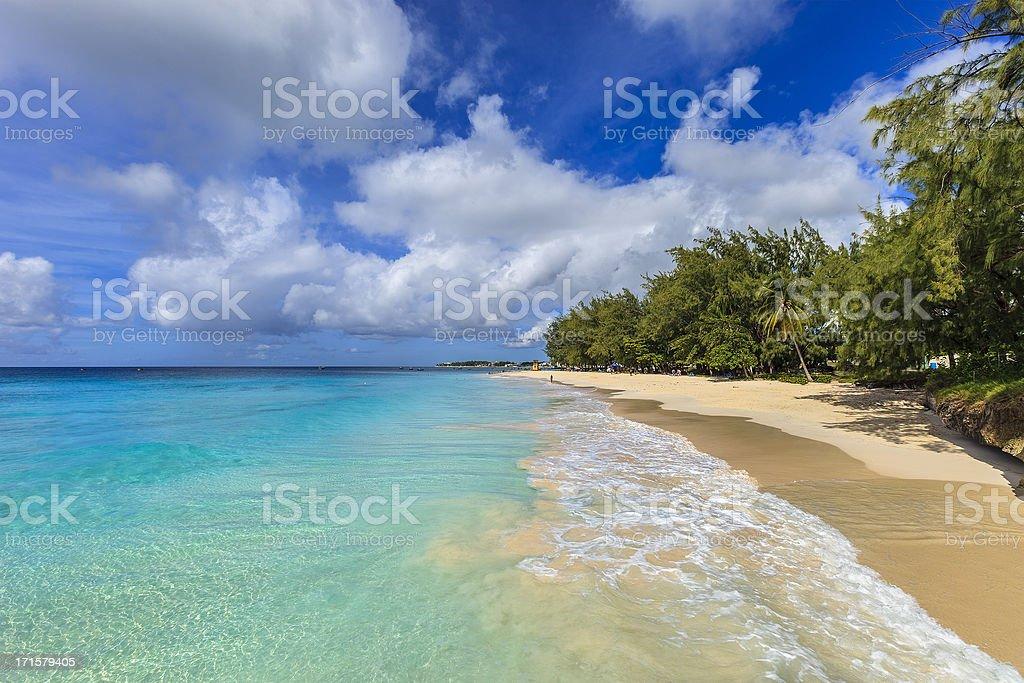 Miami Beach, Barbados stock photo