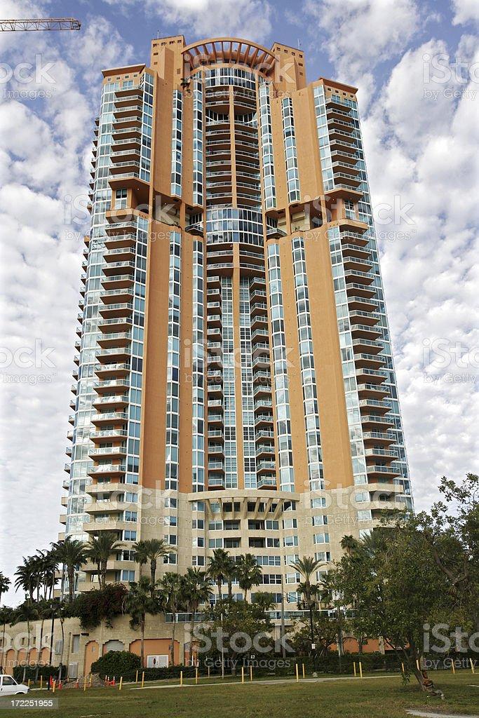 Miami Beach Condo stock photo