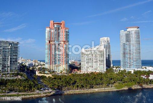 istock Miami Beach Condos 1159714980