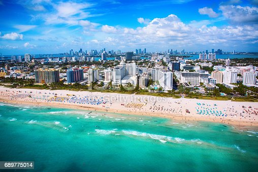 802893644 istock photo Miami Beach Florida Aerial 689775014