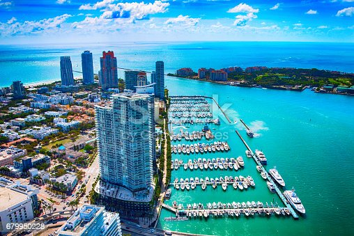 802893644 istock photo Miami Beach, Florida From Above 679950228