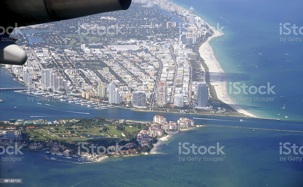 Miami Beach, Florida royalty-free stock photo