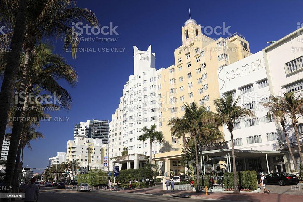 Miami Beach, Florida, USA stock photo