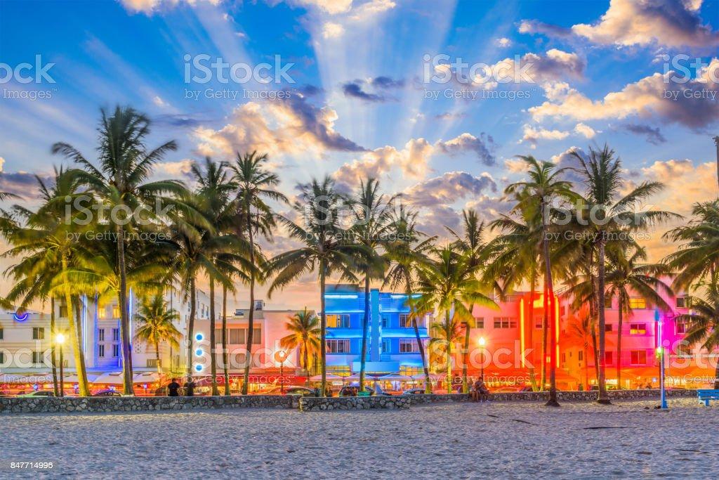 Miami Beach Florida USA royalty-free stock photo