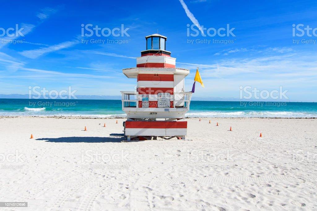 Miami Beach jetty Strandwache – Foto