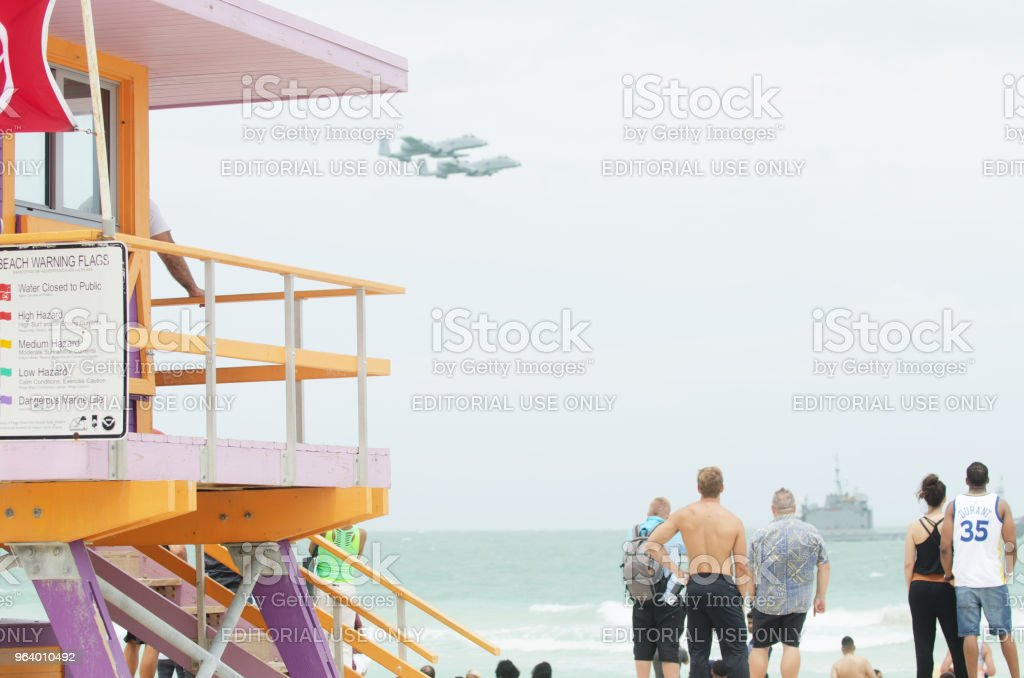 Miami Beach Memorial Day Weekend Air Show - Royalty-free Air Vehicle Stock Photo