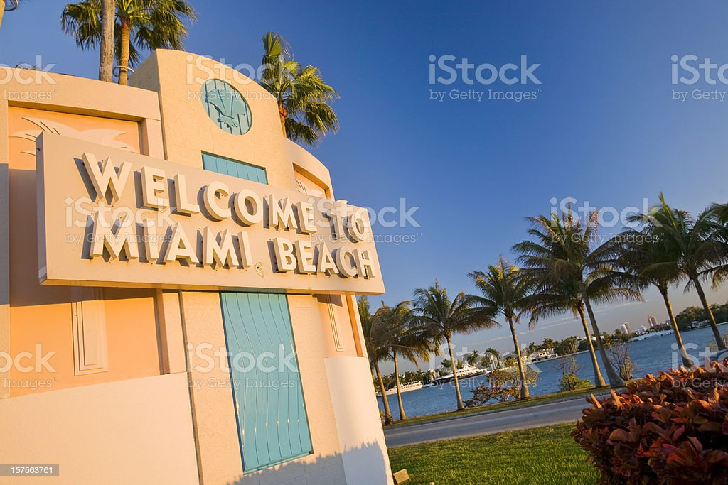 Miami Beach stock photo
