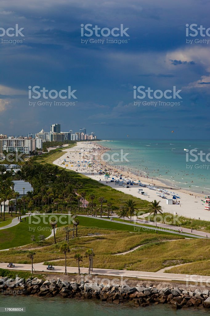 Miami Beach royalty-free stock photo
