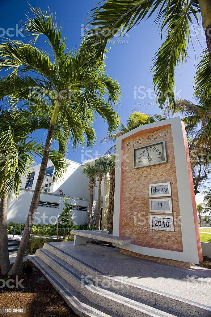 Miami beach royalty-free stock photo