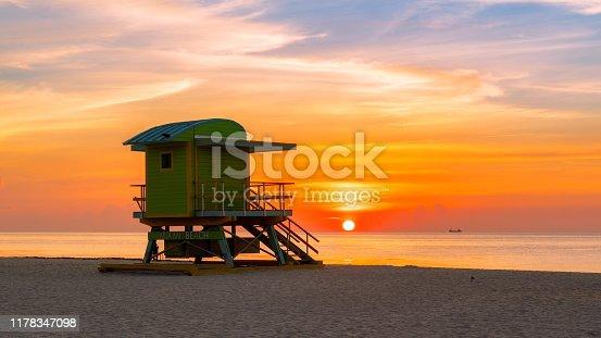 istock Miami Beach sunrise 1178347098
