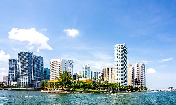 Miami Brickell Key stock photo