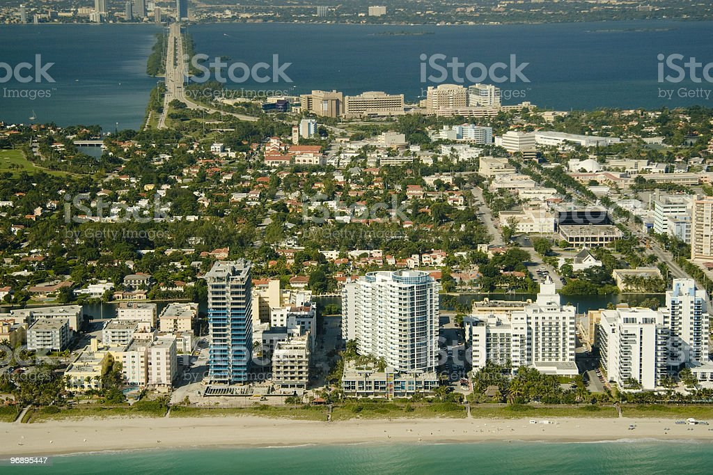 Miami city royalty-free stock photo