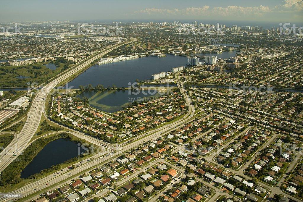 Miami city royalty-free stock photo