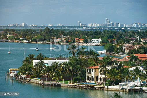 istock Miami cityscape during day 647529182