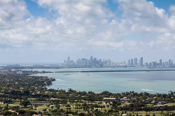 Miami Cityscape stock photo