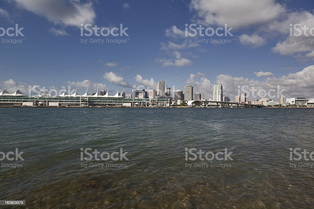 Miami Construction Boom and Bust stock photo