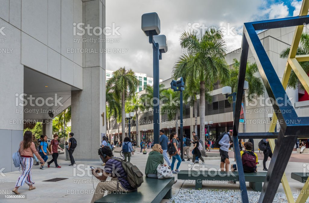Miami Dade College Stock Photo - Download Image Now
