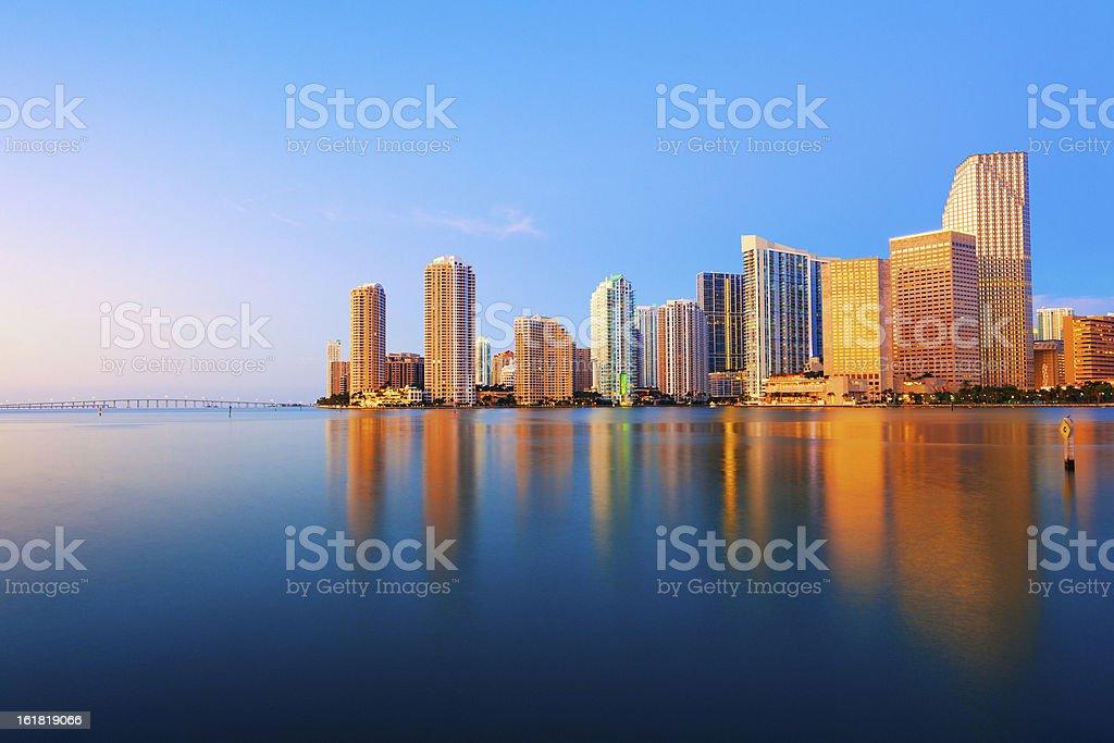 Skyline der Innenstadt von Miami – Foto