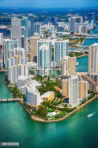 istock Miami Florida Aerial 681629028