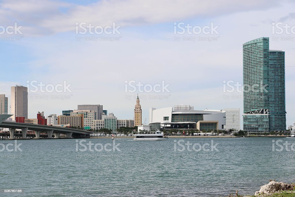 Miami, Florida - Partial Cityscape stock photo