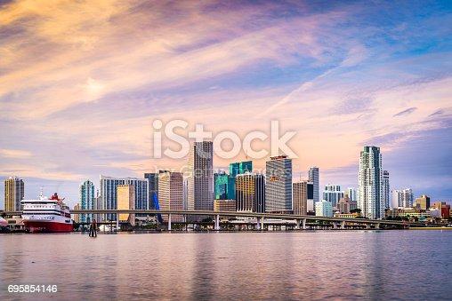 istock Miami, Florida, USA 695854146