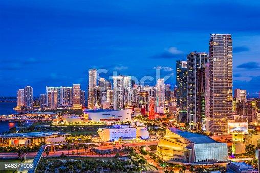 istock Miami, Florida, USA 846377006