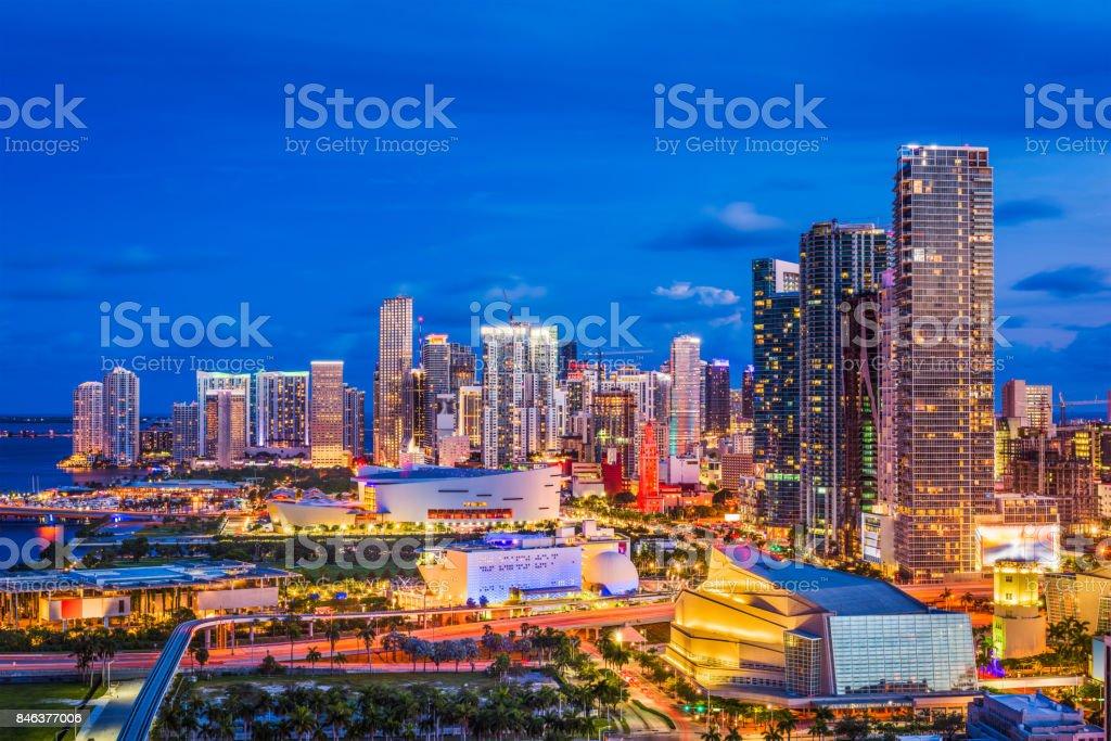 Miami, Florida, USA stock photo