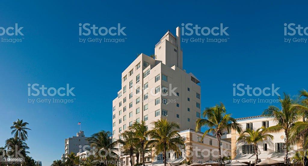 Miami hotels South Beach royalty-free stock photo