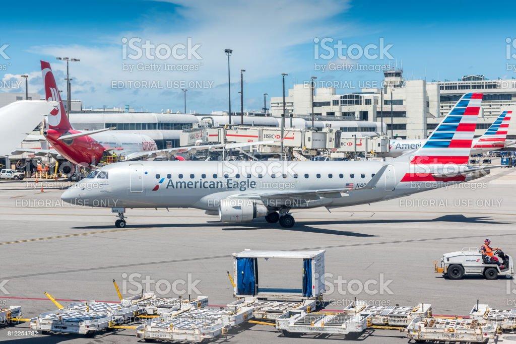 Aeroporto Internacional de Miami - foto de acervo