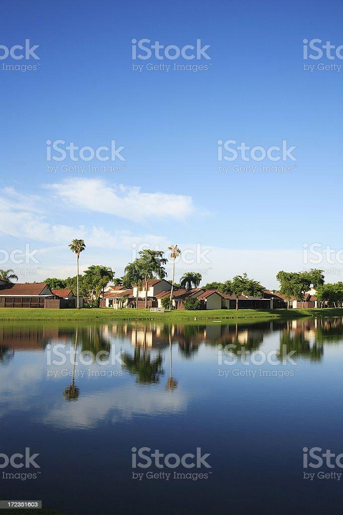 Lago de miami foto de stock libre de derechos