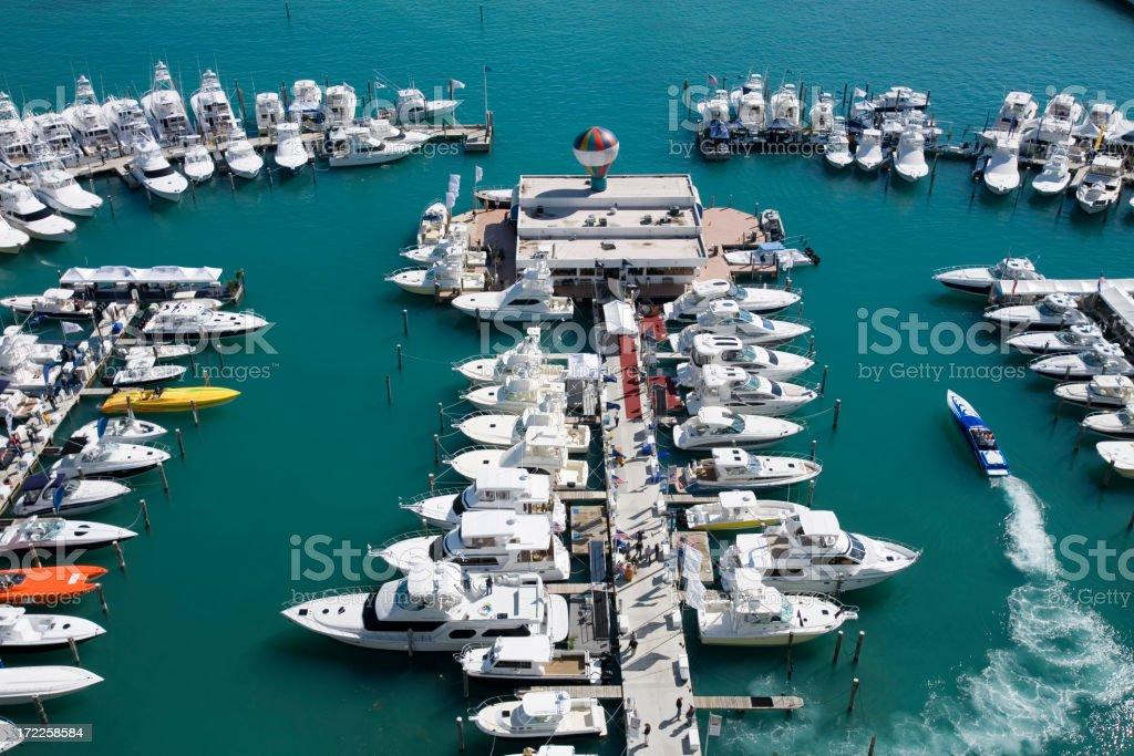 Miami Marina 2 royalty-free stock photo