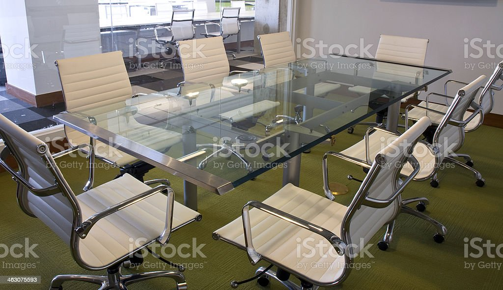 Miami Modern Contempory Conference Room stock photo