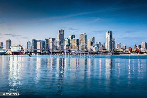 istock Miami Skyline 465519953