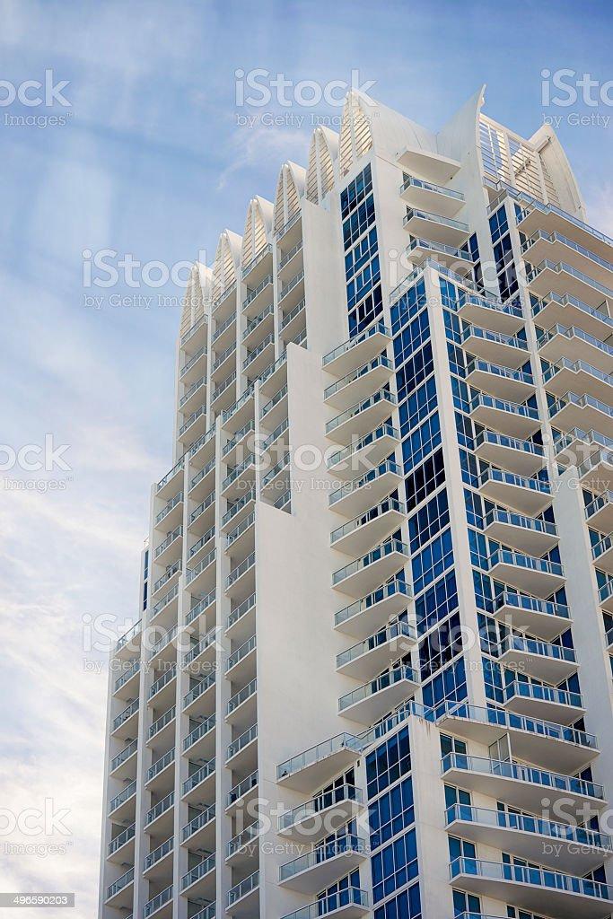 Miami South Beach Architecture stock photo