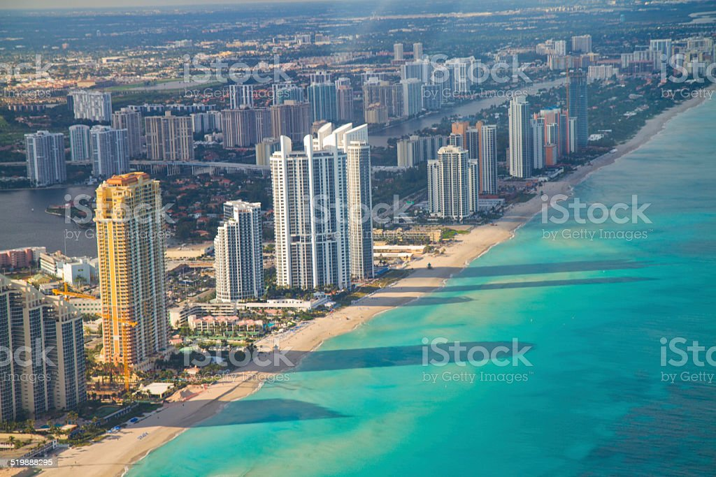 Miami South Beach stock photo