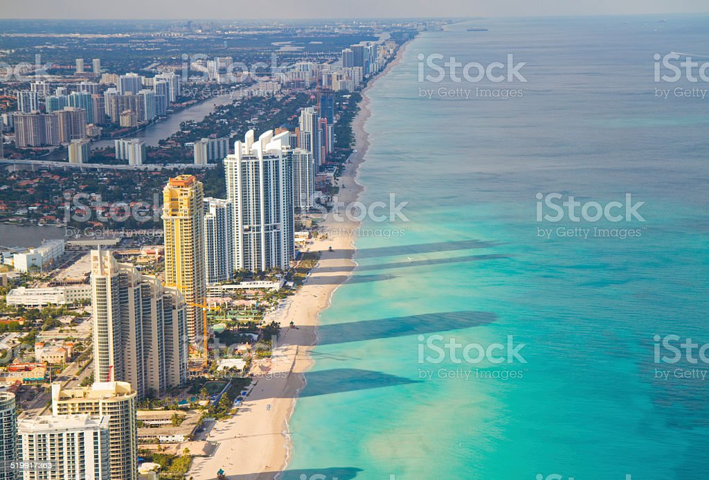 Miami South Beach stock photo