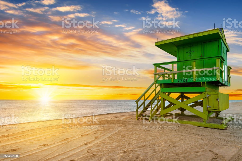 Miami South Beach sunrise – zdjęcie