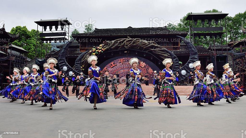 Miao Liedern und Tänzen 01 – Foto