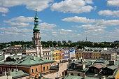 Miasto Zamość - panorama