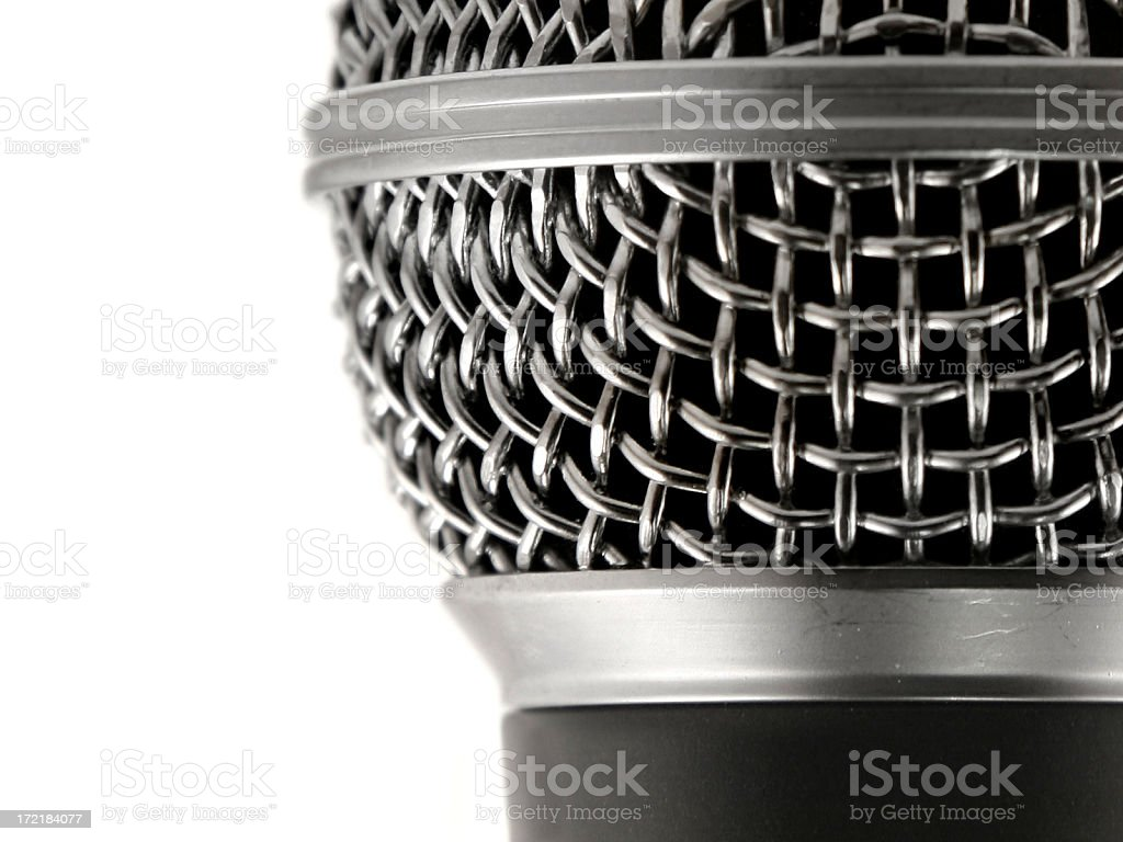 mic royalty-free stock photo