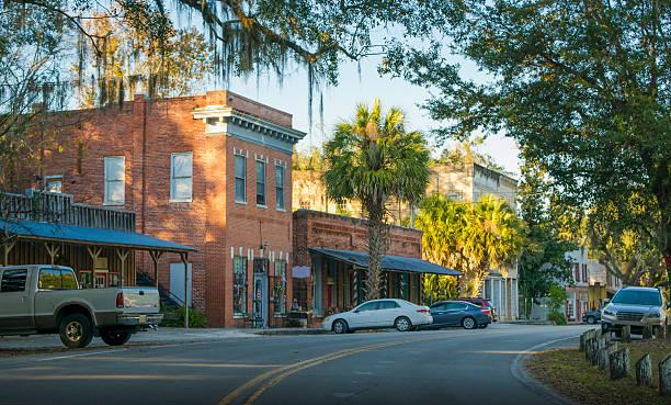 Micanopy, Florida stock photo