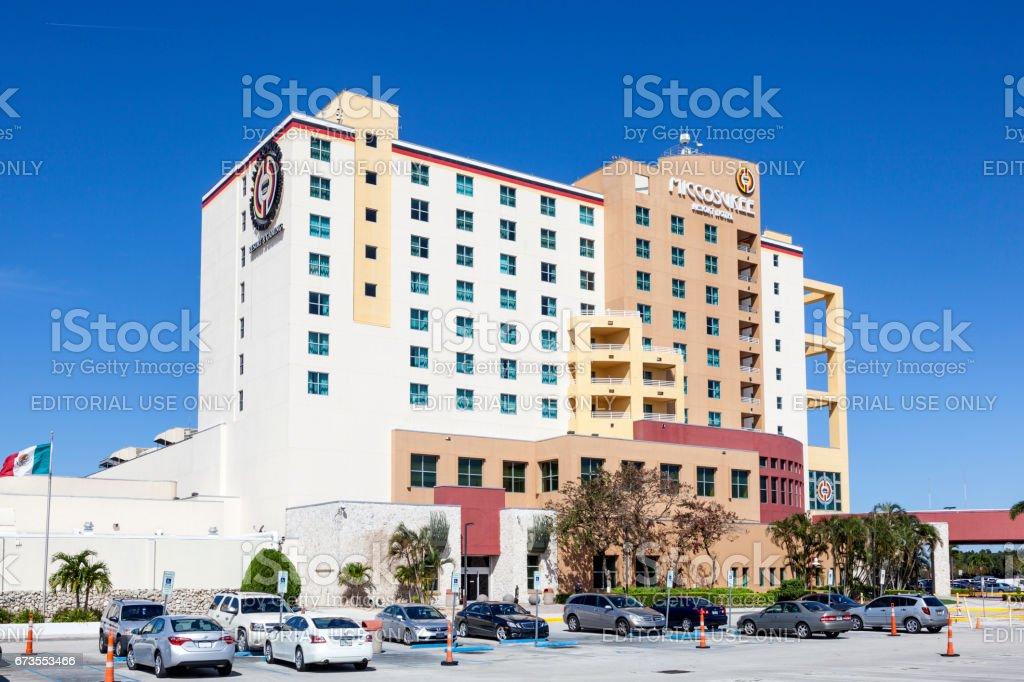 Miccosukee Indian Casino in Florida, USA royalty-free stock photo
